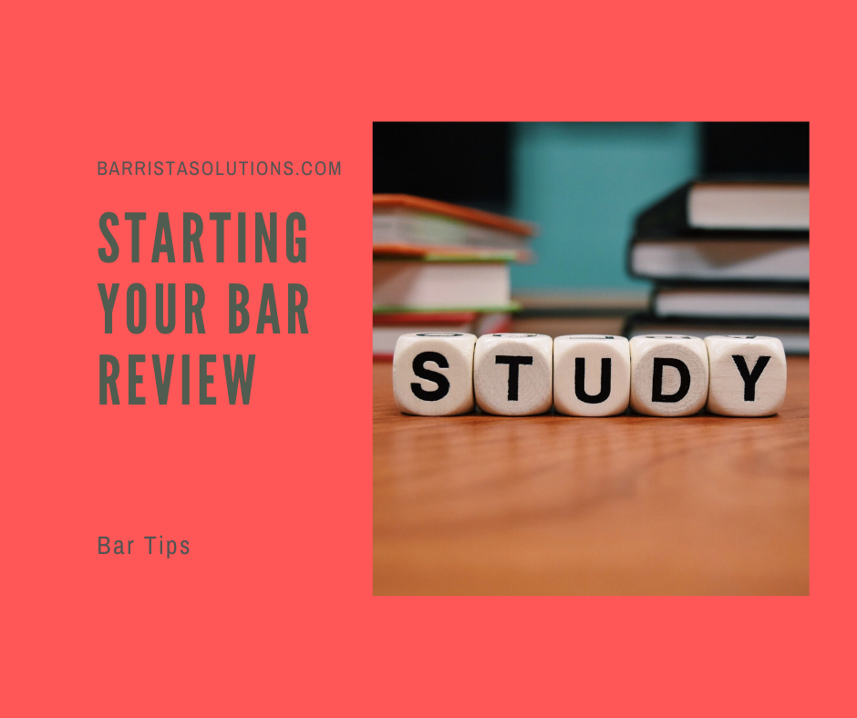 Deciding what bar review course to take