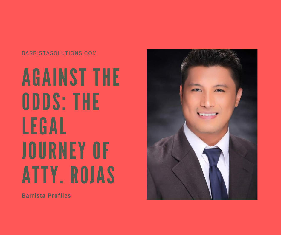 Atty. Jun Dexter Rojas- 2019 Philippine Bar Exam 9th Placer is from Polytechnic University of the Philippines College of Law