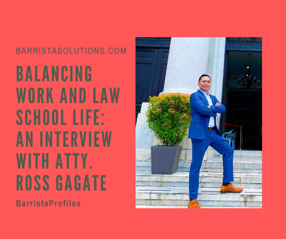 Atty. Ross Werle Gagate- a graduate of Arellano University School of Law passed the 2019 Philippine Bar Exams