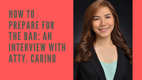 How to Prepare for the Bar: An Interview with Atty. Carino