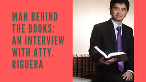 Man Behind the Books: An Interview with Atty. Riguera