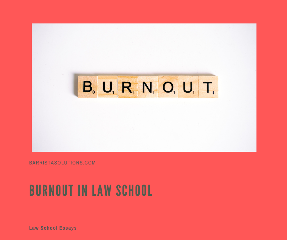 Burnout is one of the demons that a law student needs to overcome in Law School. Barrista Solutions lists ways on how to overcome burnout.