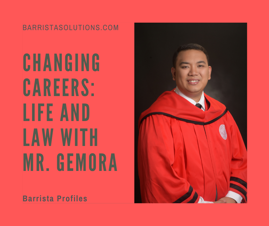 One of the few candidates who started in healthcare services and ended up being a decorated law student is Mr. Aaron S. Gemora. Starting off his career as a Registered Nurse and eventually ending up as a Juris Doctor graduate, Mr. Gemora has been on both sides of the spectrum.