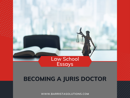 Becoming a Juris Doctor