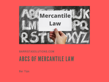 ABCs of Mercantile Law