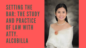 Setting the Bar: The Study and Practice of Law with Atty. Alcobilla