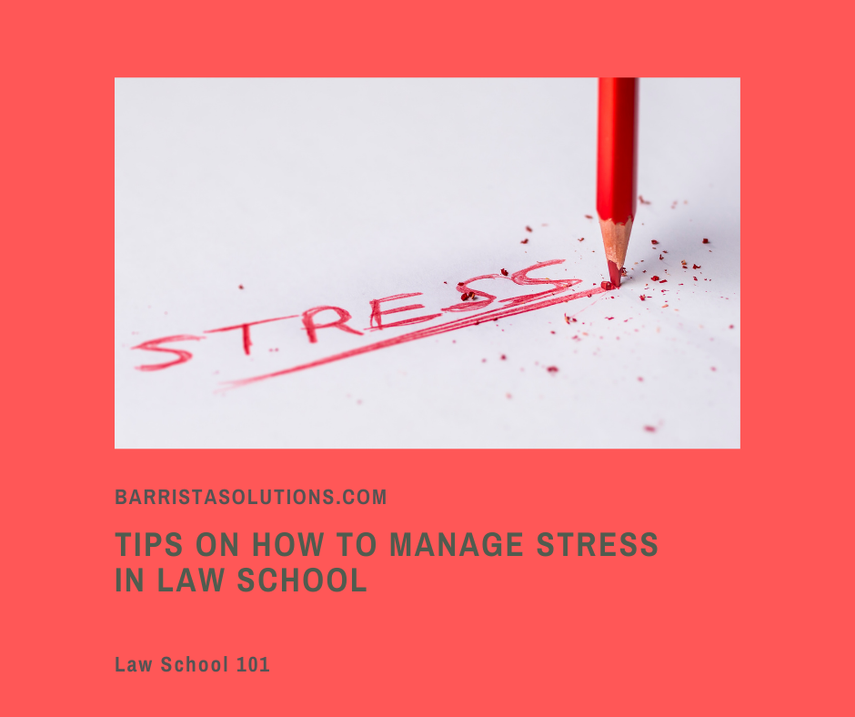 The Law School is sure stressful and not everyone is able to cope with the the pressure that comes with it. For Law Students to combat stress, Barrista Solutions comes up with tips on how to take care of mental health.