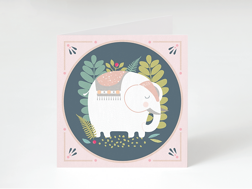 ELE - greeting card