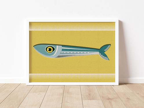 MR FISH - print