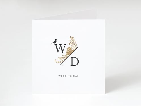 WEDDING DAY - greeting card