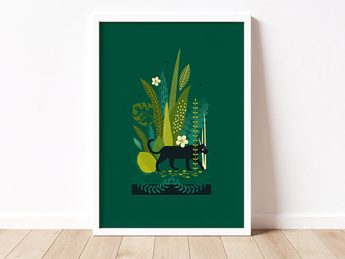 PUMA - jungle print