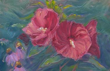 Iridescent Hibiscus