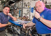 Houston, we have vegetables growing in space