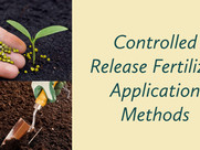 Controlled Release Fertilizer Application Methods in Plant Nurseries & Greenhouses