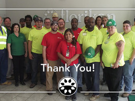 Thank You to our Team!