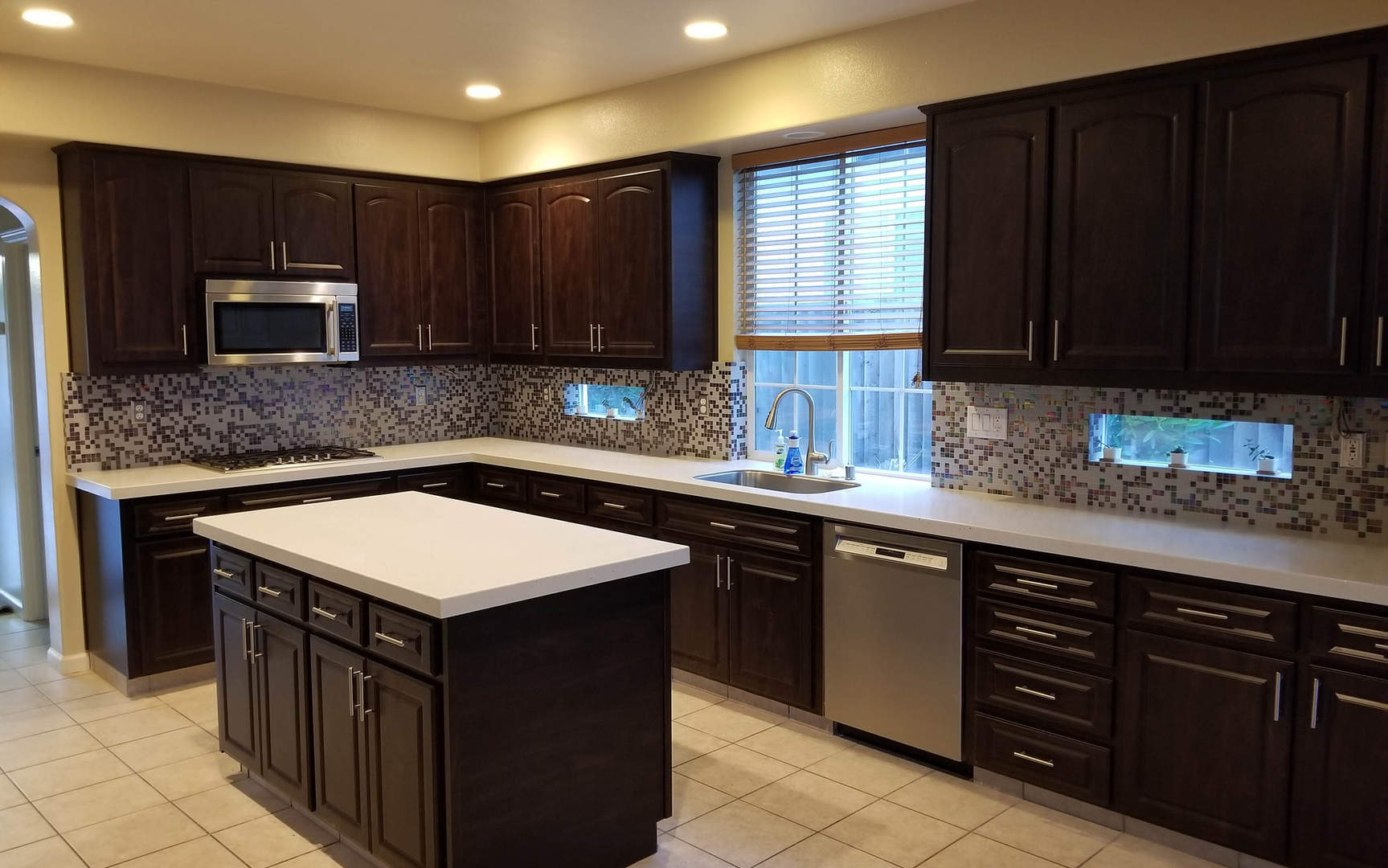 Cabinet Refacing and Countertops