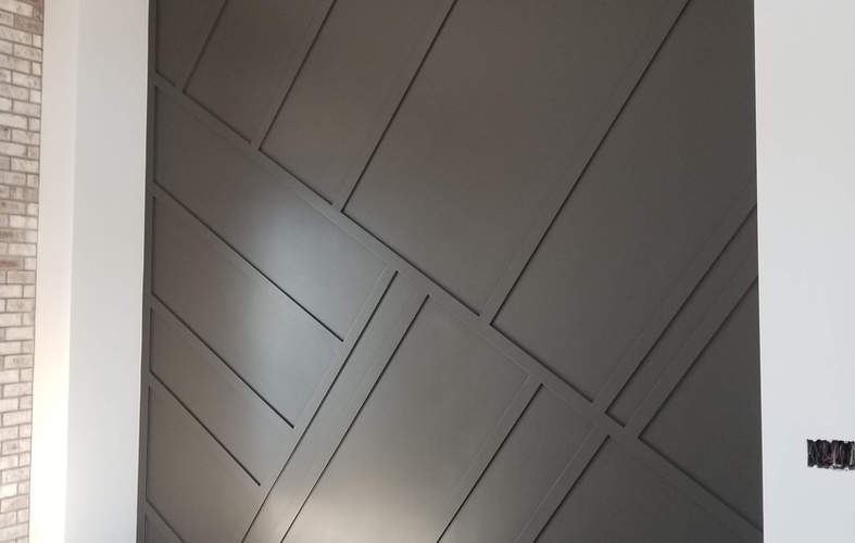 custom wood wall covering