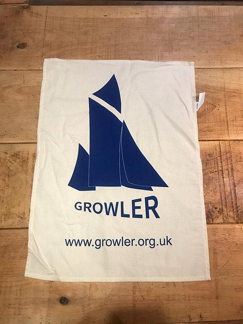 Growler Tea towel