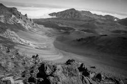 Mt. Haleakala-B&W