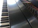 the 100 year old piano