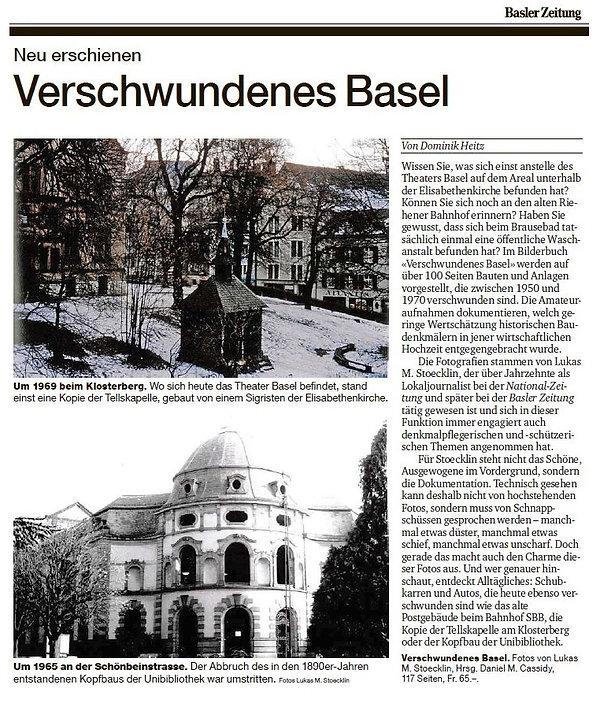 Verschwundenes Basel