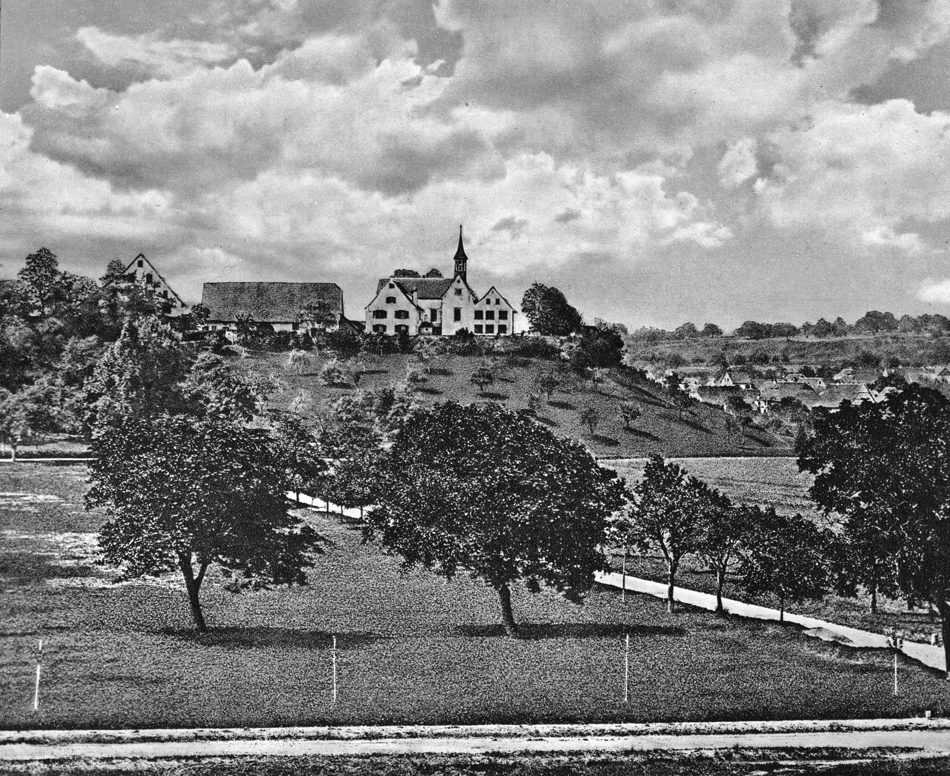 Die St. Margrethenkirche um 1870