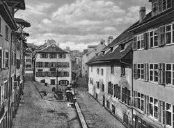 Der Rümelinsplatz um 1870