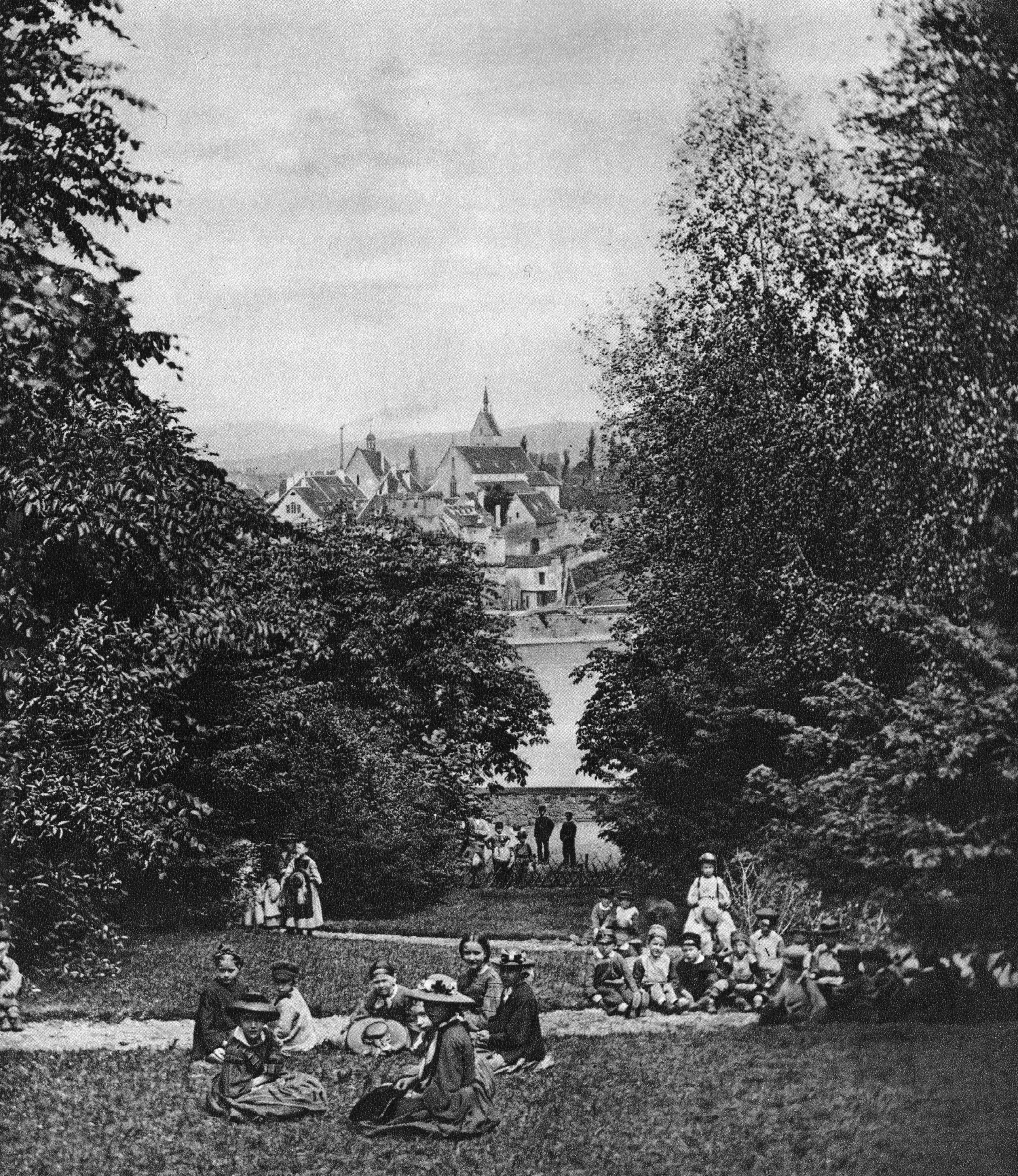 Am Harzgraben vor 1863