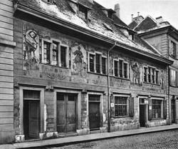 Das Haus zur Mägd um 1899