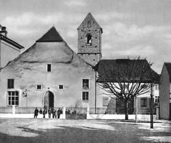 St. Ulrichs-Kapelle in der Rittergasse vor 1887