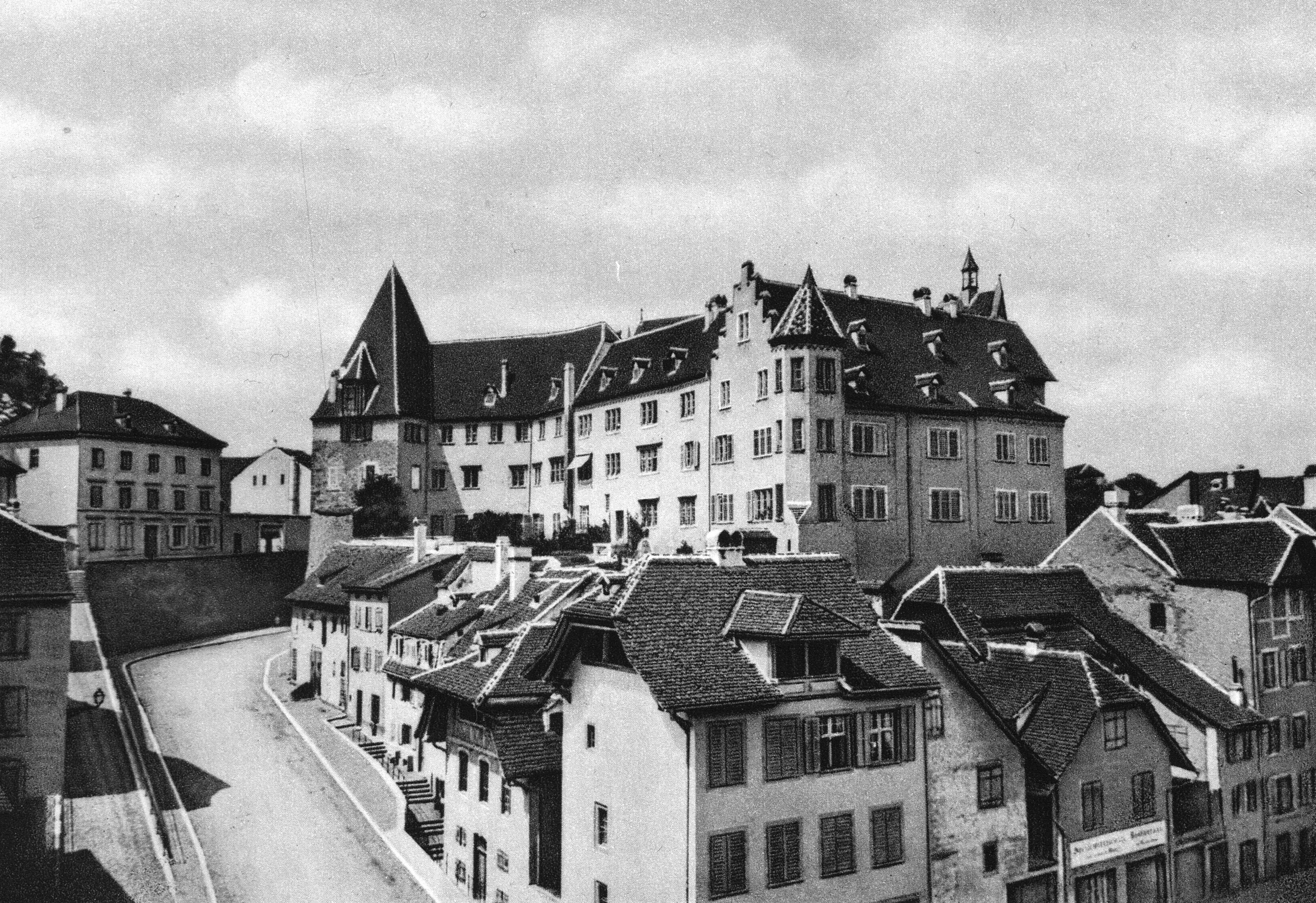Kohlenberg noch mit Rampe um 1865