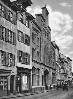 Die Untere Freiestrasse, um 1870