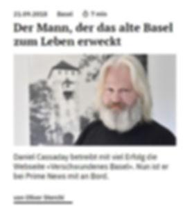 Verschwundenes Basel bei Prime News