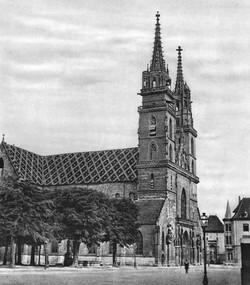 Das Münster um 1860