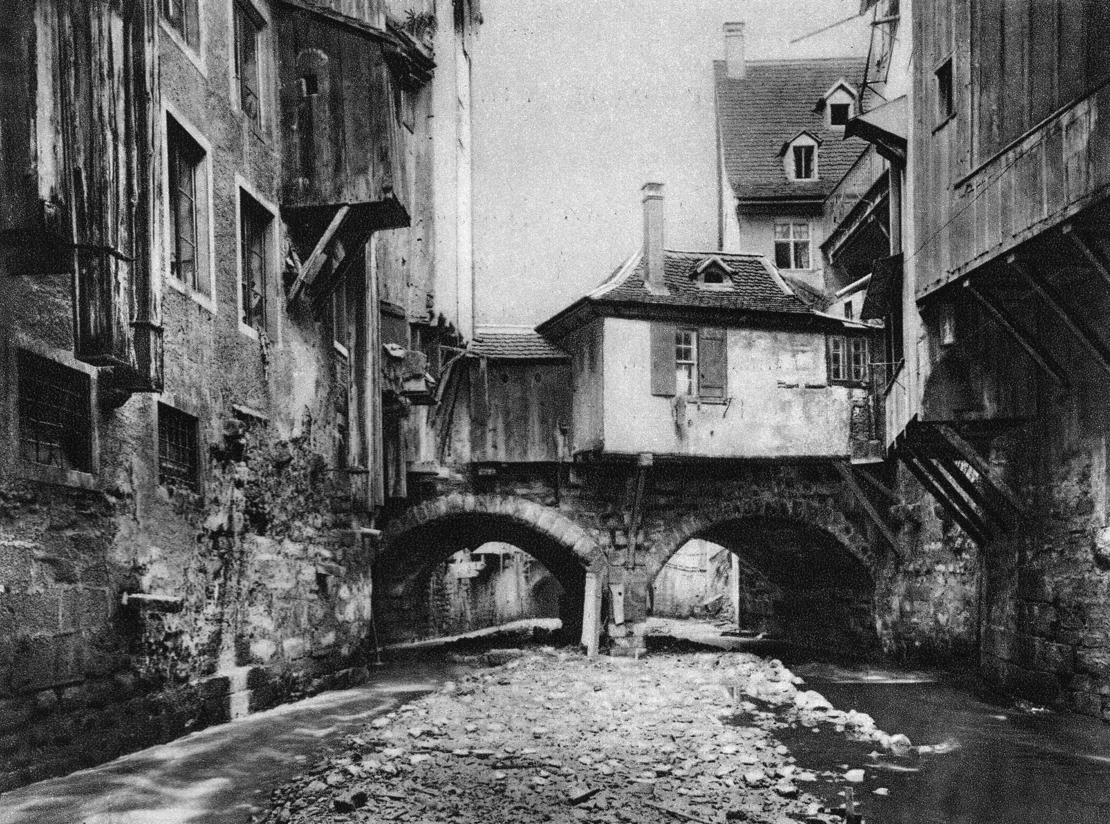 Birsigbrücke bei der Stadthausgasse