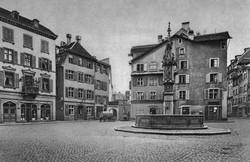 Der Fischmarkt um 1870