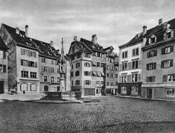Der Fischmarktbrunnen um 1870