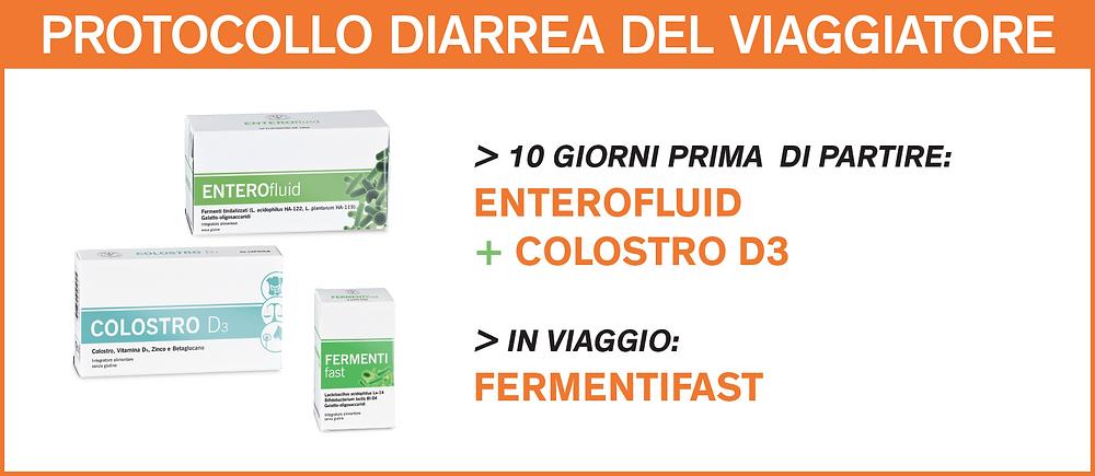 DISBIOSI - Protocollo diarrea del viaggiatore
