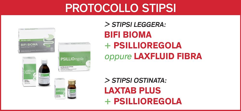 DISBIOSI - Protocollo stipsi