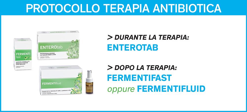 DISBIOSI - Protocollo terapia antibiotica