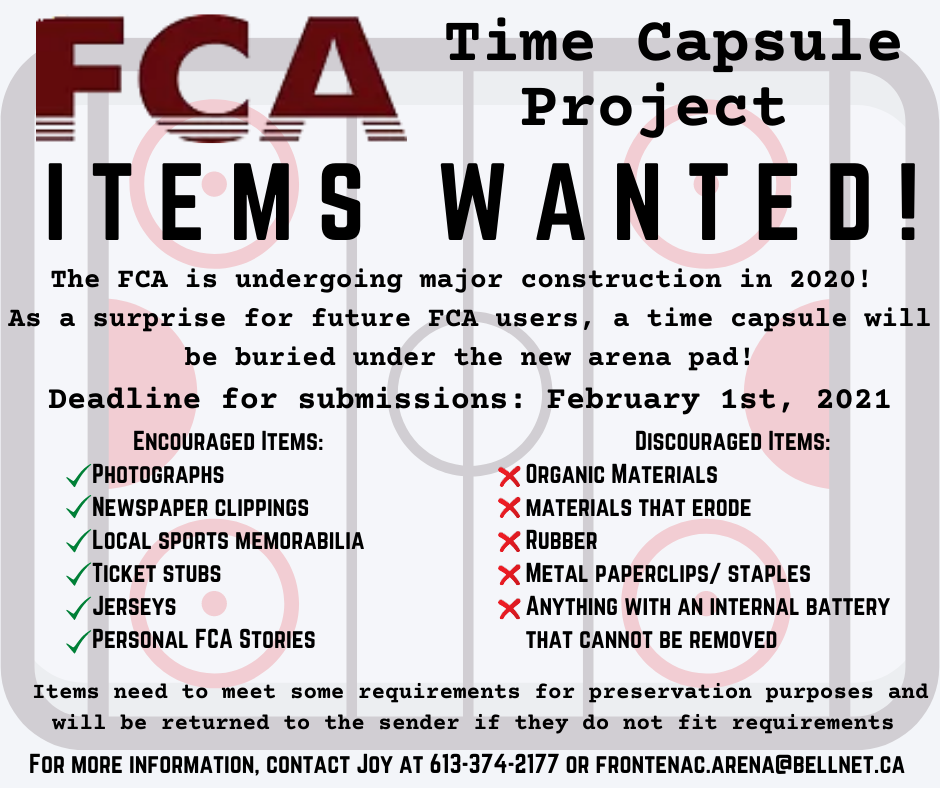 FCA Time Capsule Project