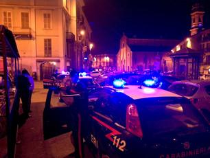 """Controlli dei Carabinieri durante """"Effetto Notte"""": cinque giovani denunciati per guida in"""
