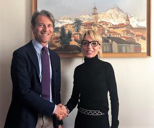 Carlo Savio appoggia la candidata del centrodestra Alessandra Piano