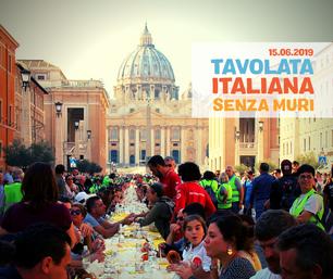 Sabato 15 giugno in Caritas Saluzzo appuntamento con la Tavolata Italiana senza muri