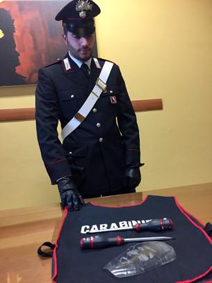 Controlli dei Carabinieri sotto le feste: due arresti e due denunce