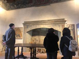 Presentati gli ultimi restauri nella Sala delle Alleanze al Museo Casa Cavassa