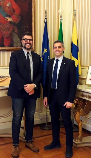 Nuova collaborazione tra il Comune di Saluzzo e il Comune di Parma nel nome di Bodoni e Dalla Chiesa