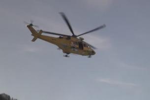 Scialpinista belga soccorso al Colle di Traversette dalle squadre da terra del Cnsas