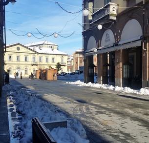 Neve e ghiaccio in città