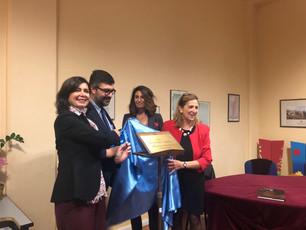 Laura Boldrini inaugura la sala di Palazzo Italia intitolata a Salvatore Morelli